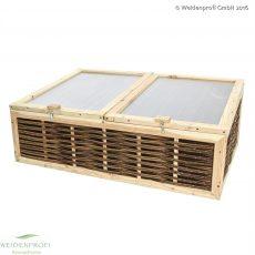 Fruhbeete Aus Holz Mit Exklusivem Weidengeflecht