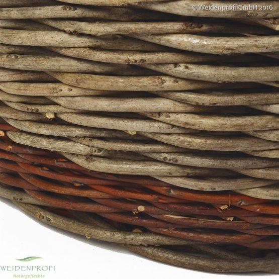 Erntekorb, Kaminholzkorb, Dekokorb aus Robinie und Weide in 3 Größen